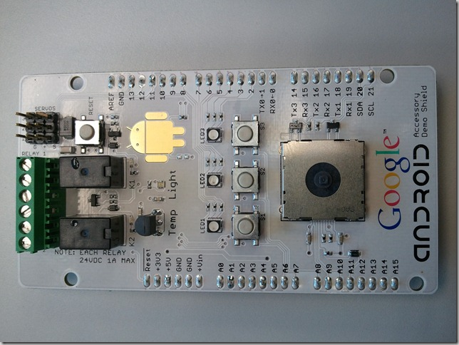 Google Accessory Demo Shield